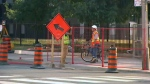 Jarvis lane reductioni for watermain