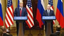 Trump and Putin speak in Helsinki