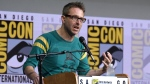 "In this July 21, 2017 file photo, Chris Hardwick moderates the ""Fear The Walking Dead"" panel at Comic-Con International in San Diego.  (Photo by Al Powers/Invision/AP, File)"
