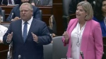 Doug Ford and Andrea Horwath