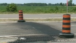 CTV Windsor: Highway 3 buckles again