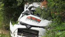 One driver extracted, two hospitalized after crash
