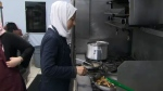 syrian refugees chef