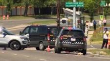 Pedestrians struck in Falconridge
