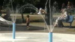 Splash park in Eau Claire