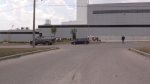 Five people were taken to hospital after a chemical leak at an egg processing facility in Elmira.
