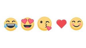 The most popular emojis on Messenger. © Courtesy of Messenger