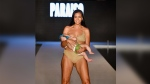 Mara Martin made headlines after she breastfed her daughter during a fashion show in Miami. (Sports Illustrated / Instagram)