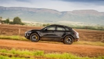 Porsche's new Macan in high-altitude training. (Courtesy of Porsche)