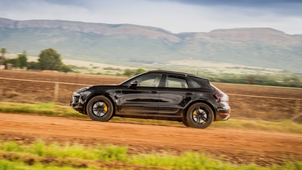 Porsche shows facelifted Macan testing in South Africa…