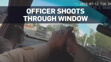 Bodycam footage shows dramatic police chase
