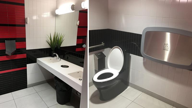 St. Albert Honda restroom