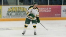 Humboldt Broncos' forward Matthew Gomercic is shown in a handout photo. (THE CANADIAN PRESS / Marla Possberg)