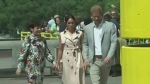 Duchess wears dress from Calgary designer