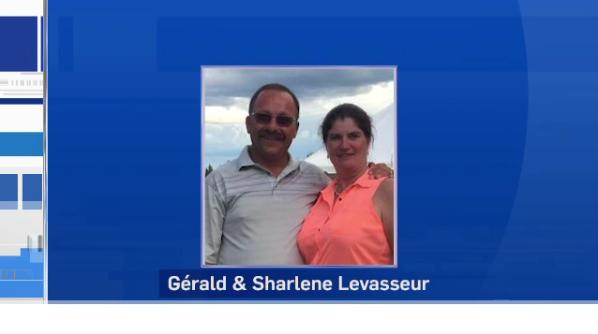 Gérald and Sharlene Levasseur of Sudbury