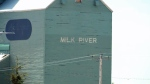 Milk River grain elevator