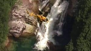 Toronto man dies in Gold Creek waterfall