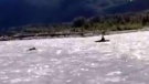 Bear charges kayaker on Elaho River