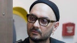 Russia's theatre and film director Kirill Serebrennikov attends hearings in a court in Moscow, Russia, Monday, May 21, 2018. (AP Photo/Pavel Golovkin)
