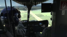 Provincial police officers are using new technology to catch traffic offenders from the sky.