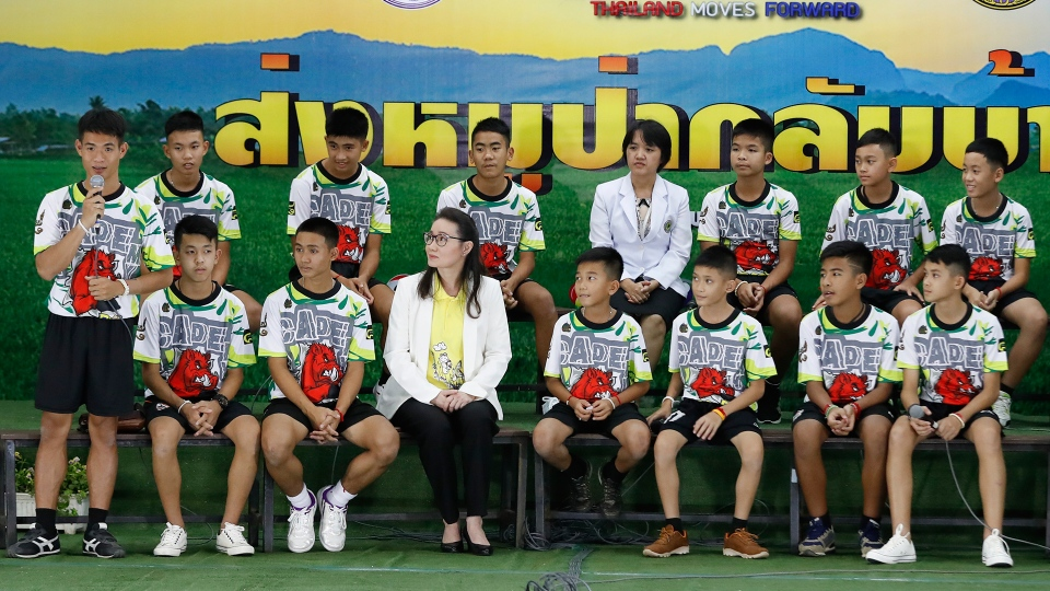Coach of rescued Thai soccer team speaks