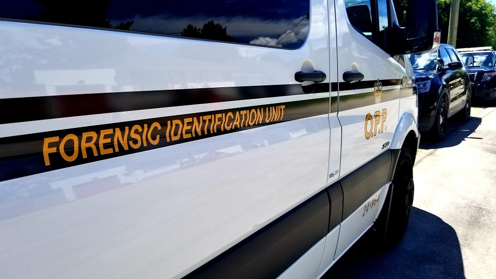 Forensic identification unit van