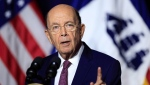 U.S. Department of Commerce Secretary Wilbur Ross speaks to employees of the Department of Commerce in Washington, Monday, July 16, 2018. (THE CANADIAN PRESS/AP/Manuel Balce Ceneta)