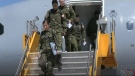 RCAF Officers return
