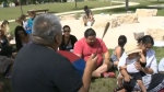 Indigenous history camp