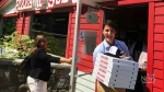 Justin Trudeau visits popular NS pizza place