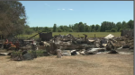 A fire at a rural farm near Toledo, ON, kills dozens of goats.