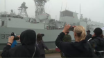 HMCS Ville de Quebec will be deployed in Mediterranean Sea for six months with new Cyclone helicopter.