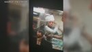 A woman is seen in this video posted to Facebook attacking a female Tim Horton's employee at a Brampton franchise. (Facebook)