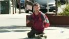 Quadruple amputee hitchhiking across Canada