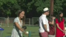 Lawn bowling for a good cause