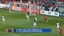 Fury take on Toronto FC at TD Place