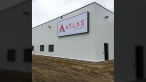 An Atlas Growing facility in Edmonton. (Instagram)