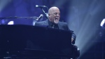 Musician Billy Joel performs during his 100th lifetime performance at Madison Square Garden in New York on Wednesday, July 18, 2018. (Evan Agostini/Invision/AP)
