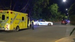 Emergency crews rushed to de Maisonneuve and Melrose in NDG after reports of a shooting on July 18, 2018