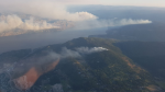Two wildfires burn within a few kilometres of Peachland, B.C. (Twitter: BC Wildfire Service)