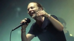 Thom Yorke of Radiohead performs in concert at Madison Square Garden on Tuesday, July 10, 2018, in New York. Radiohead is playing its first Toronto concert tonight since the fatal Downsview Park stage collapse that killed their drum technician Scott Johnson six years ago. THE CANADIAN PRESS/AP/Photo by Greg Allen/Invision/AP