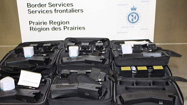 RCMP seize energy weapons