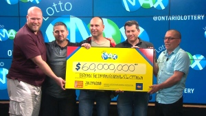 $60M Lotto Max jackpot winners revealed
