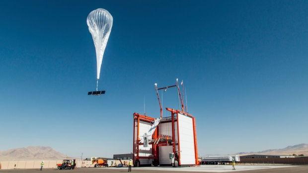 Alphabet brings balloon internet to Kenya