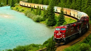 "Flight Network&#39;s judges said travelling through the Canadian Rockies by train is 26th best trip you can take in the world. <strong><a href=""https://www.flightnetwork.com/blog/worlds-best-journeys/"" target=""_blank"">(Flight Network)</a></strong>"