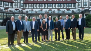 Canadian premiers pose for an official photo on the lawn of the Algonquin Resort  in St. Andrews, N.B., on Wednesday, July 18, 2018. THE CANADIAN PRESS/Andrew Vaughan