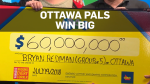 Ottawa friends win $60M Lotto Max jackpot