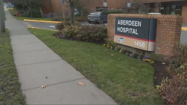 Aberdeen Hospital is shown in this undated file photo.