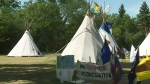 Government files lawsuit against protest camp