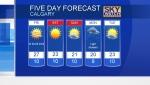 Calgary forecast July 19, 2018